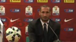 Coppa Italia, Juve-Lazio finale. Giorgio Chiellini: