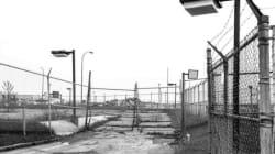 Les ruines de l'aéroport de Mirabel en