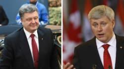 Harper discute de la situation ukrainienne avec