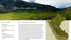 Peru Dispute Hits Bear Creek Mining