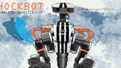 Le robot Hockbot: hockey en 3D et statistiques en temps