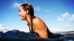 Léa Brassy, surfeuse