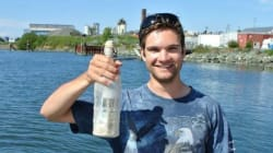 B.C. Canoeists Honour Dead Man's Message In A Bottle With Incredible