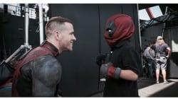 Ryan Reynolds Grants Wish For Boy Battling