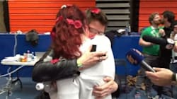 Mariage gai: elle fait la grande demande quelques minutes après les résultats du vote