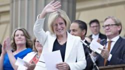 Rachel Notley And Her NDP Cabinet Sworn