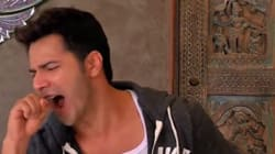 Varun Dhawan Finally Got To Do His 'The Rock' Impression In Front Of The Man