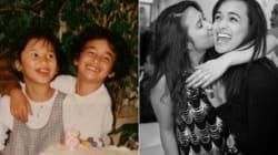 21 fotos de antes e depois mostram a força da amizade entre