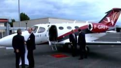 Les déplacements de Sarkozy en jet privé sont