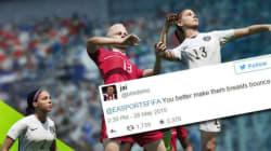 Ces réactions sexistes prouvent qu'il était temps de sortir un jeu FIFA avec des