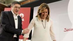 Patxi López y Susana Díaz, a la gresca por los