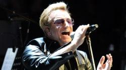 Un concert de U2 annulé à Stockholm à cause d'un homme