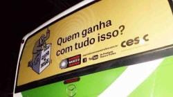 Campanha 'Da Proibição Vem o Tráfico' é banida de ônibus interestaduais de