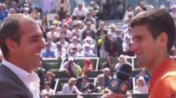 Quand Djokovic attend le feu vert de sa femme pour aller encourager le