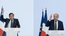 Juppé et Fillon hués (et applaudis) au congrès des