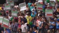 Des milliers de manifestants en soutien aux victimes de la