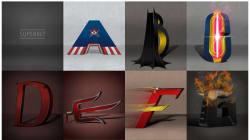 Chaque lettre correspond a un super-héros, saurez-vous les reconnaître