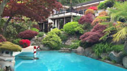West Vancouver Home's Japanese Garden Is