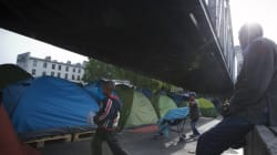 Un bidonville de migrants au nord de Paris évacué par la
