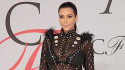 Kim Kardashian's CFDA Awards Dress Leaves Little To The