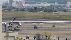 Solar Impulse à l'abri au Japon en attendant une météo