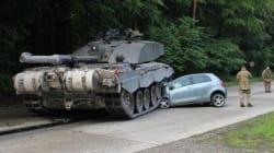 En Allemagne, mieux vaut faire attention aux tanks