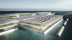 Cette ferme solaire flottante pourrait changer