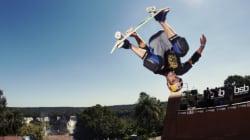 Elite do skate representa Brasil no X