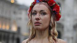 Inna Shevchenko répond au HuffPost Maroc après le happening Femen de