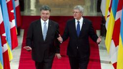 Ukraine Pushes Canada On