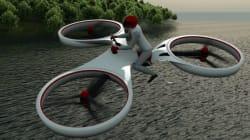 Te sentirás como E. T. en esta bici eléctrica voladora que ya es el