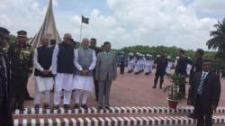 Modi Begins Bangladesh Visit With Homage To