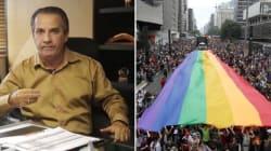 'Jesus Cura a Homofobia': Evangélicos vão à Parada Gay marchar contra a