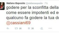 Il senatore Esposito replica a modo suo agli sfottò anti-Juve