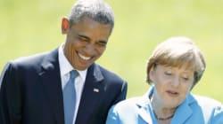 Merkel e Obama: