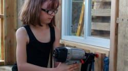 À 9 ans, elle construit des refuges pour les SDF de sa
