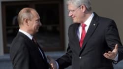 Harper Wanted Russia Out Of G8 Before Ukraine