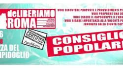 Mafia Capitale: il Consiglio popolare convocato a Roma, venite a dire la