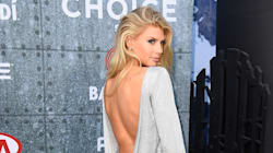 Charlotte McKinney Gets Cheeky At Guys' Choice