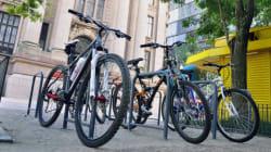 Agora qualquer paulistano poderá instalar bicicletários na calçada de seu