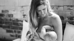 「どんなに疲れても、愛してる」小さな赤ちゃんを抱くママの肖像