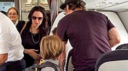 Brad Pitt, Angelina Jolie et leurs enfants font un Paris - Nice en classe