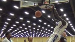 A 16 ans, c'est sans doute l'un des plus grands joueurs de basket au