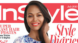 Zoe Saldana's InStyle Cover Is Summer