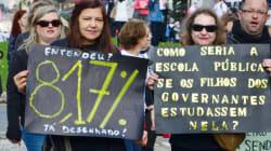 Greve de professores no PR chega ao fim após 44