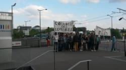 Une poignée de Levalloisiens manifestent devant le siège de France