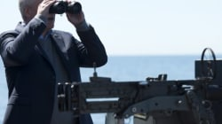Harper Sees Russian Ships In