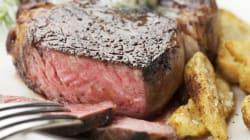Vous pouvez dévorer votre steak l'esprit en