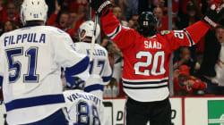 Saad permet aux Hawks de créer l'égalité dans la