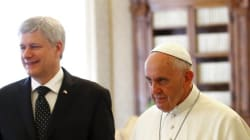 Harper Has Unusually Short Meeting With Pope